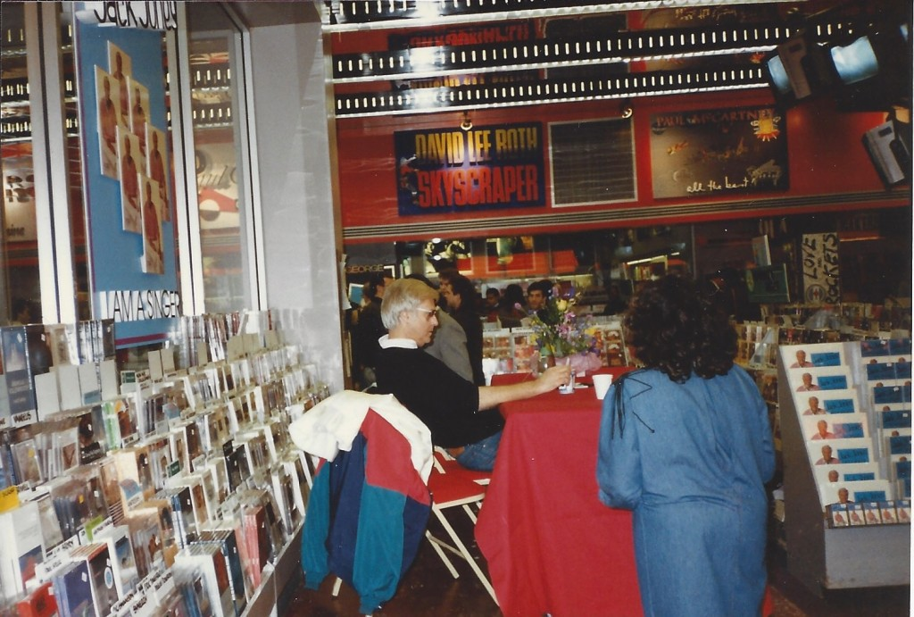 1980s in-store appearance