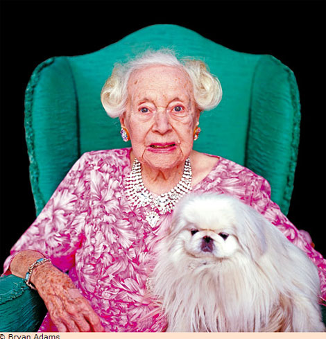 Barbara Cartland old