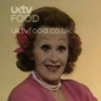 """Turkey—let's face it—is a very dry bird!"": On Fanny Cradock's Christmas Cookery"