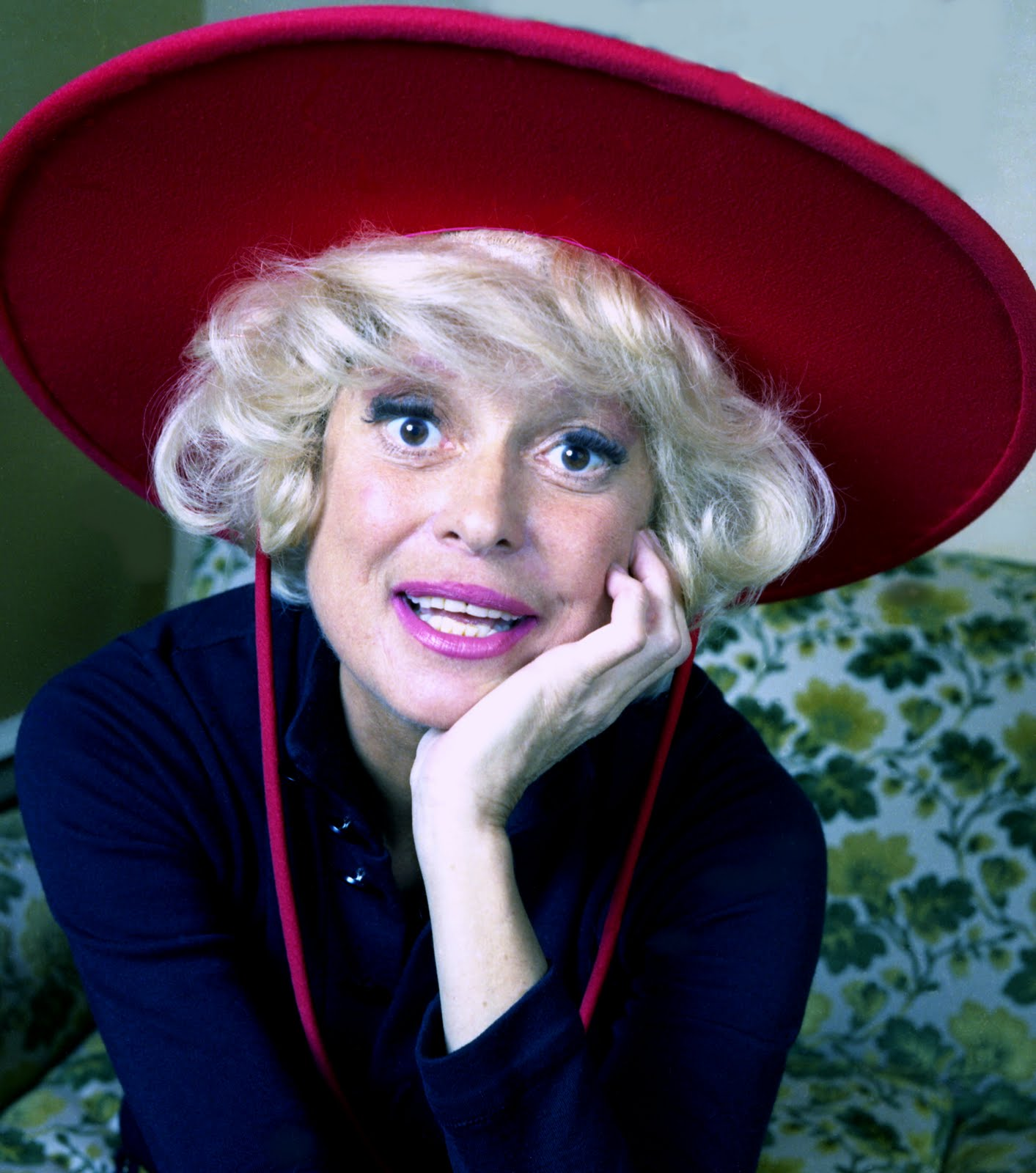 Carol Channing housework