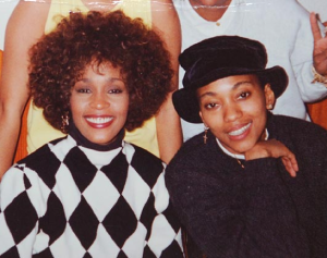 Whitney Houston with Robyn Crawford