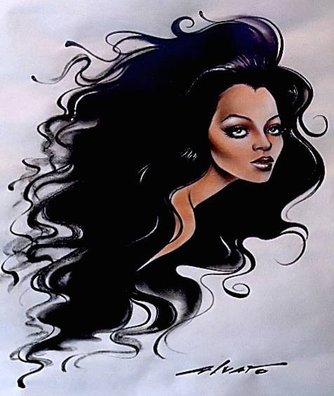 Diana Ross by Alvaro