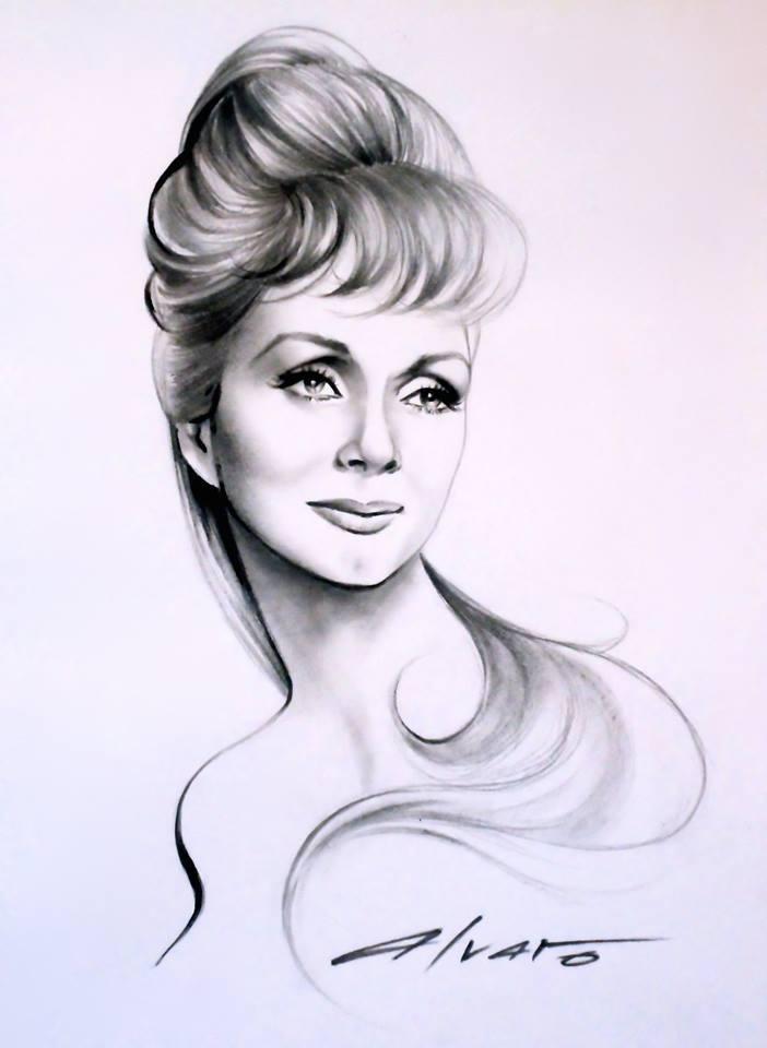 Debbie Reynolds by Alvaro