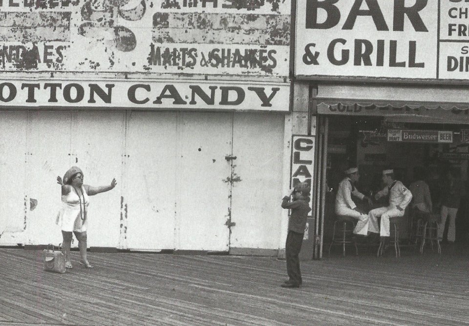 """Annie Hall"" boardwalk scene"