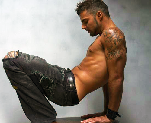 Ricky Martin sexiest picture