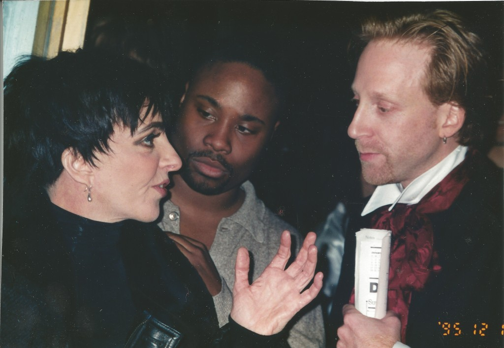 Billy Porter, Liza Minnelli