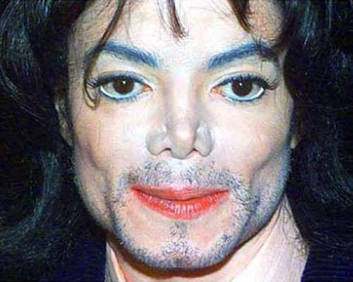 Michael Jackson fake nose