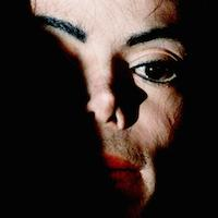 Michael Jackson photographed by Russel Boyce/Reuters