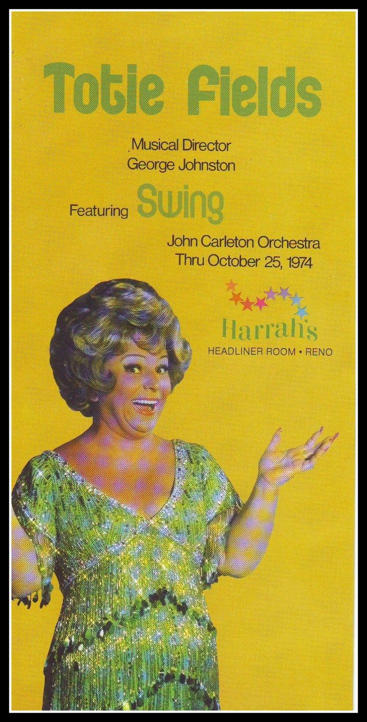 Totie Fields personal appearance