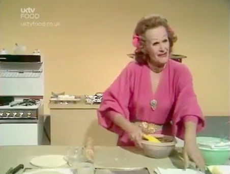 "Fanny Cradock Cooks: ""Mincemeat, the Cinderella of Christmas Cooking!"""