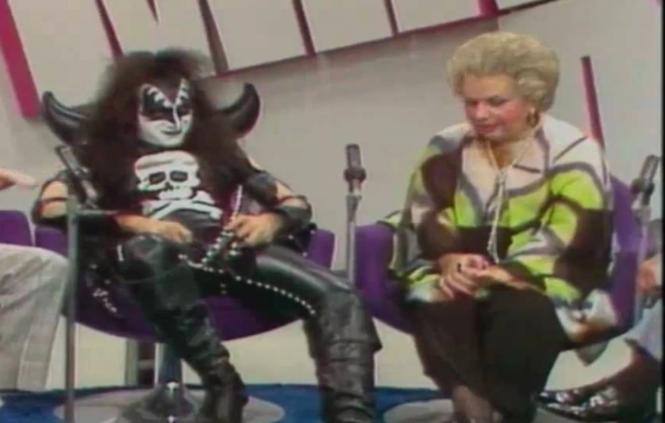 Gene Simmons, Totie Fields, Mike Douglas
