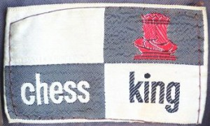 Chess King label