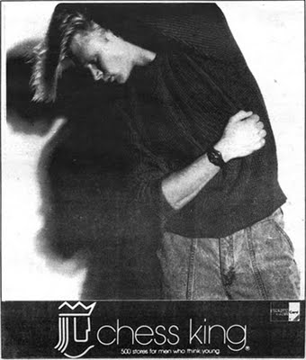 Chess King Men's Store advertisement