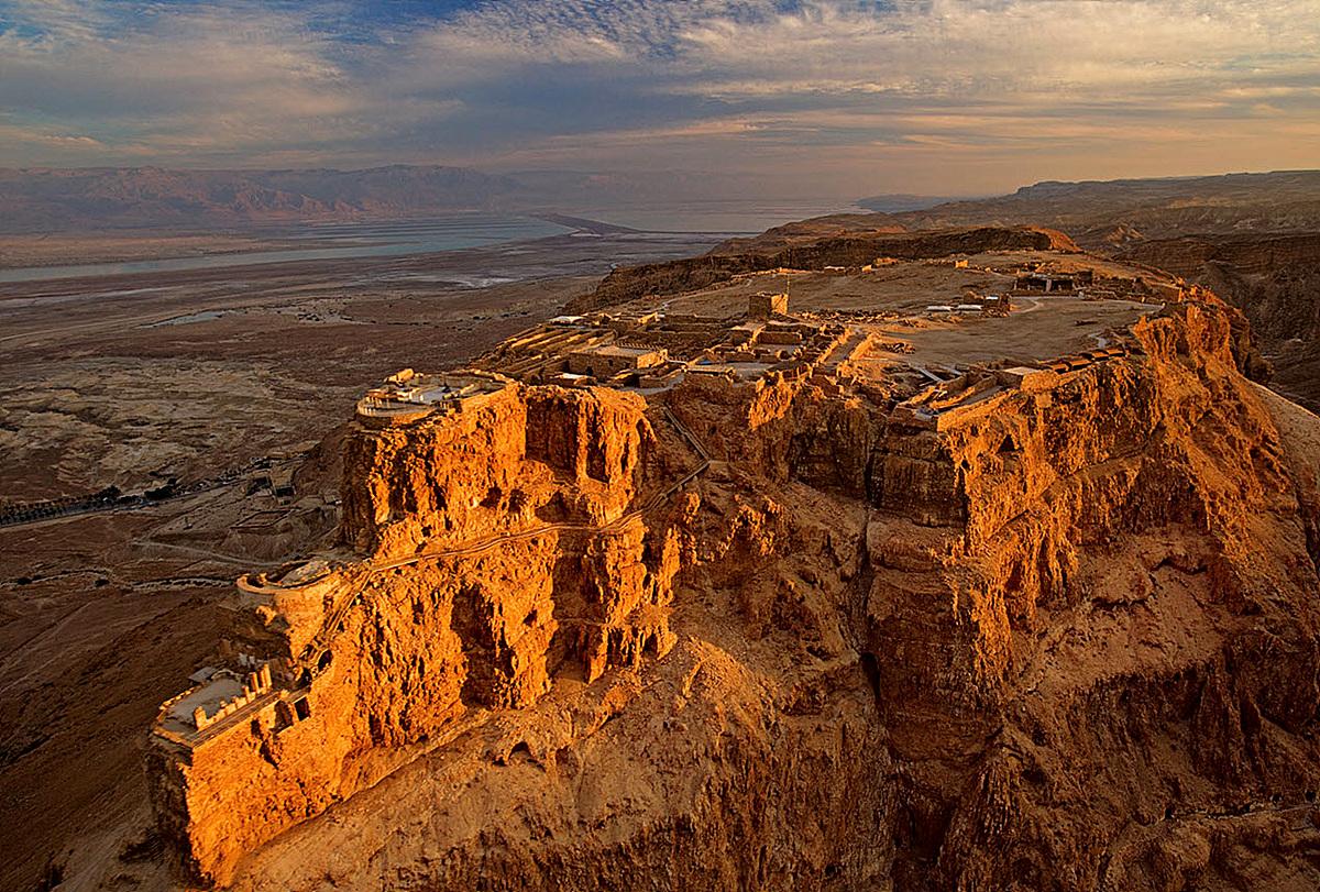 Zanimljivosti iz  geografije - Page 2 Masada_Israel