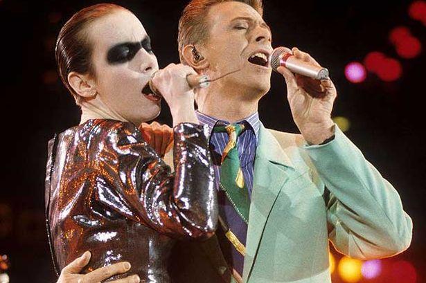 David Bowie Annie Lennox Live Aid