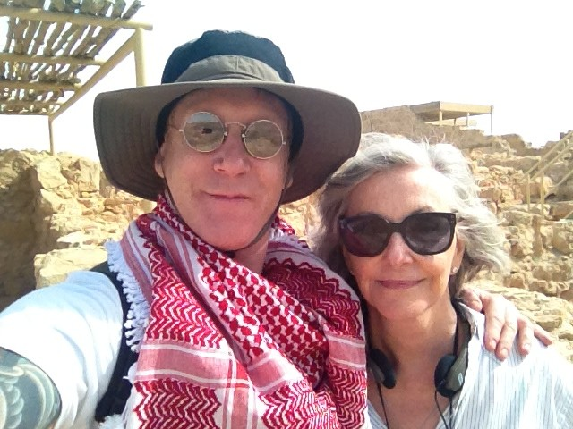 Family at Masada