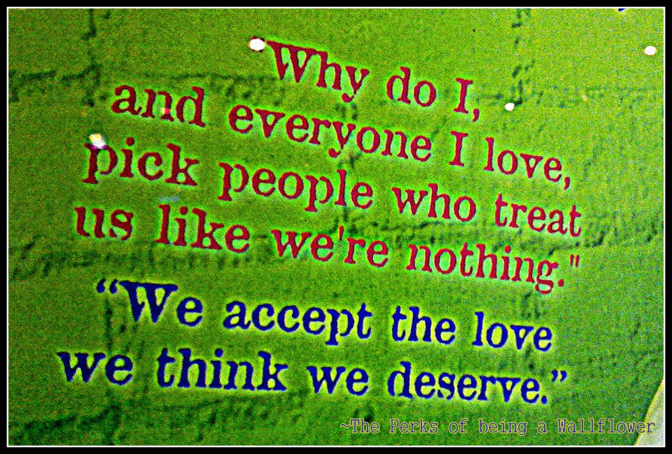 Movie Quote of the Day  The Perks of Being a WallflowerPerks Of Being A Wallflower Quotes We Accept The Love