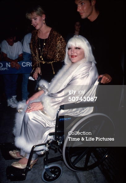 Peggy Lee wheelchair old