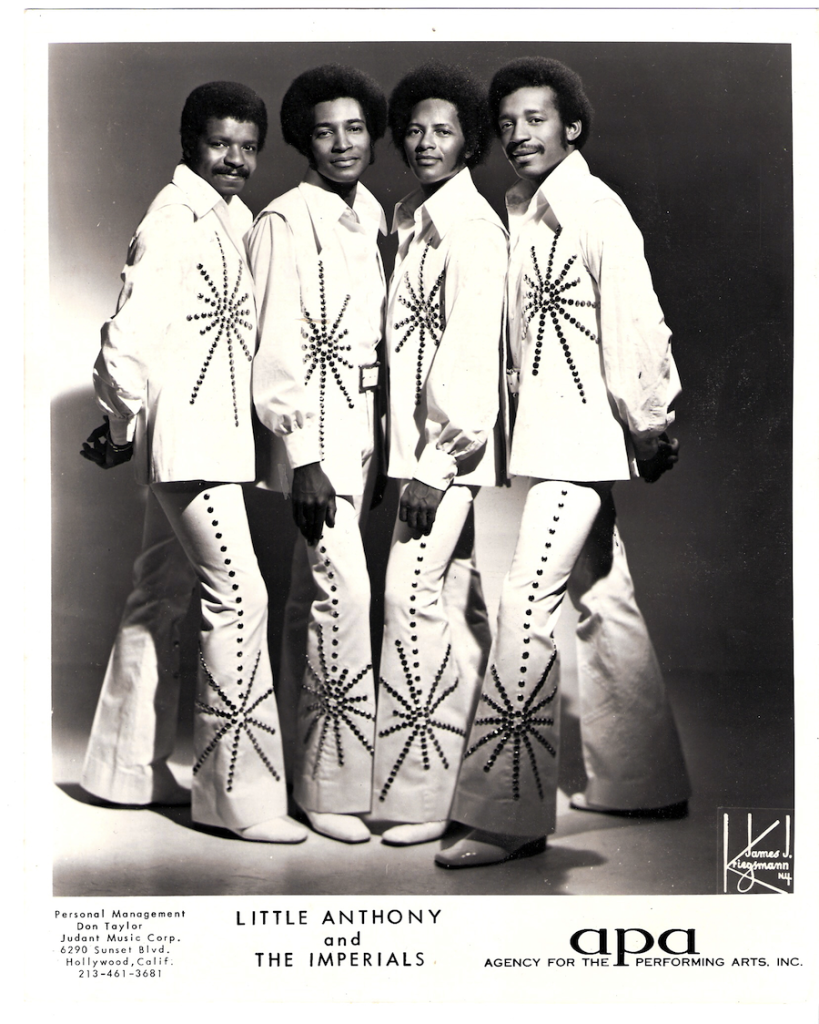 Little Anthony and the Imperials publicity shot