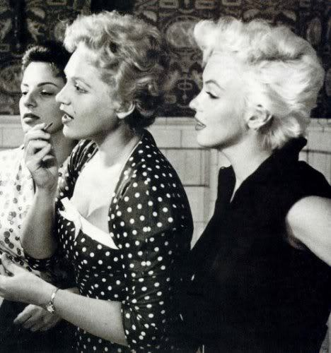 Marilyn Monroe and Judy Holliday