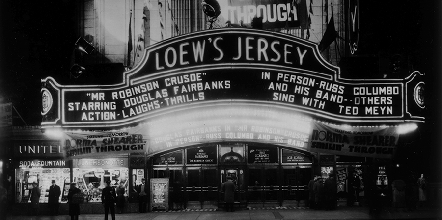Loew's Jersey City archive