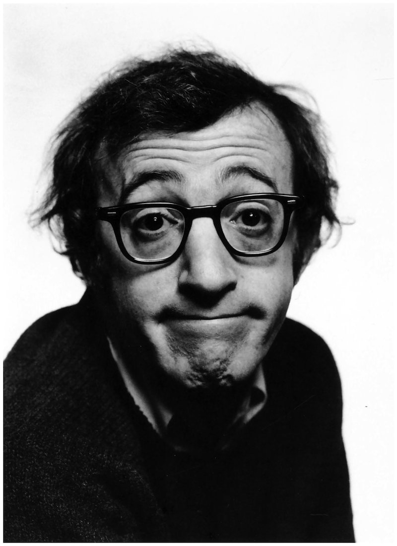 Woody Allen black and white