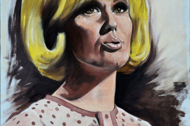 Dusty Springfield painting