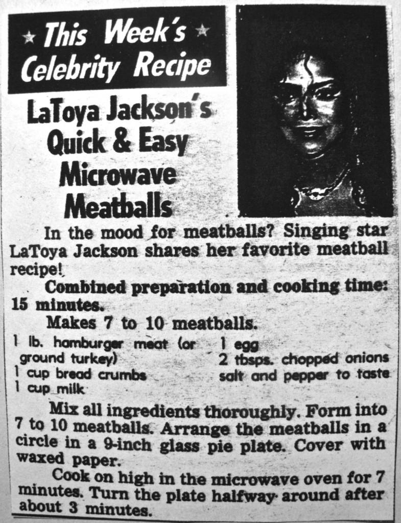 LaToya meatball