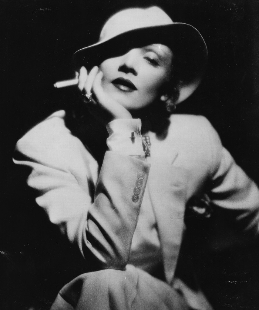 Marlene Dietrich suit