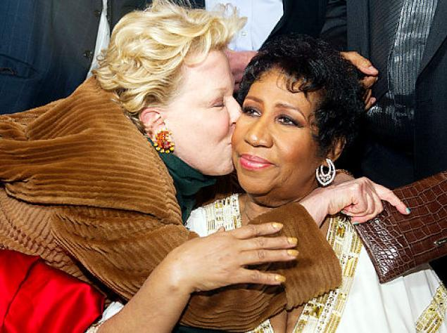 Bette Midler, Aretha Franklin