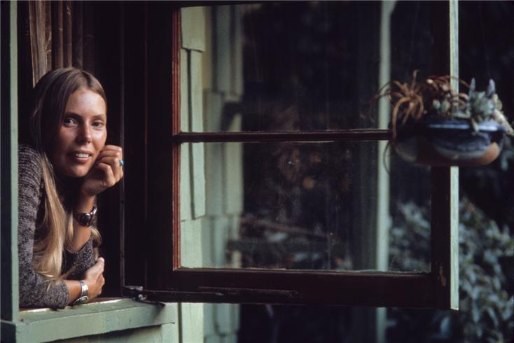 Joni Mitchell window