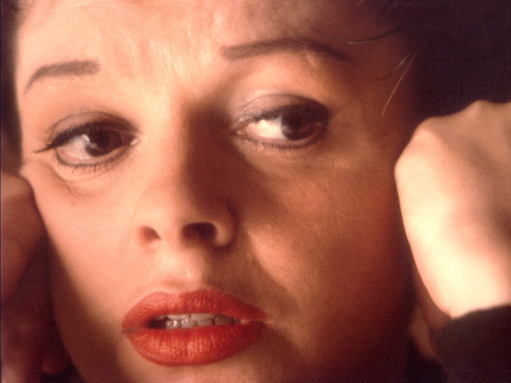 Judy Garland sad