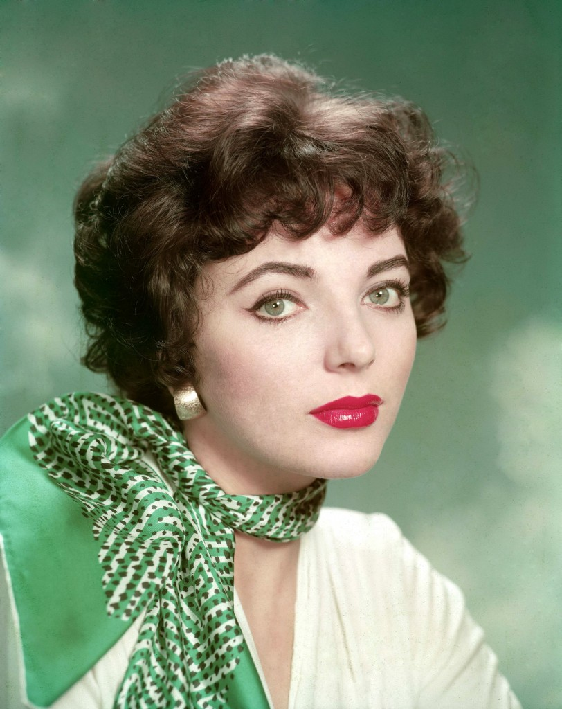 Joan Collins studio portrait