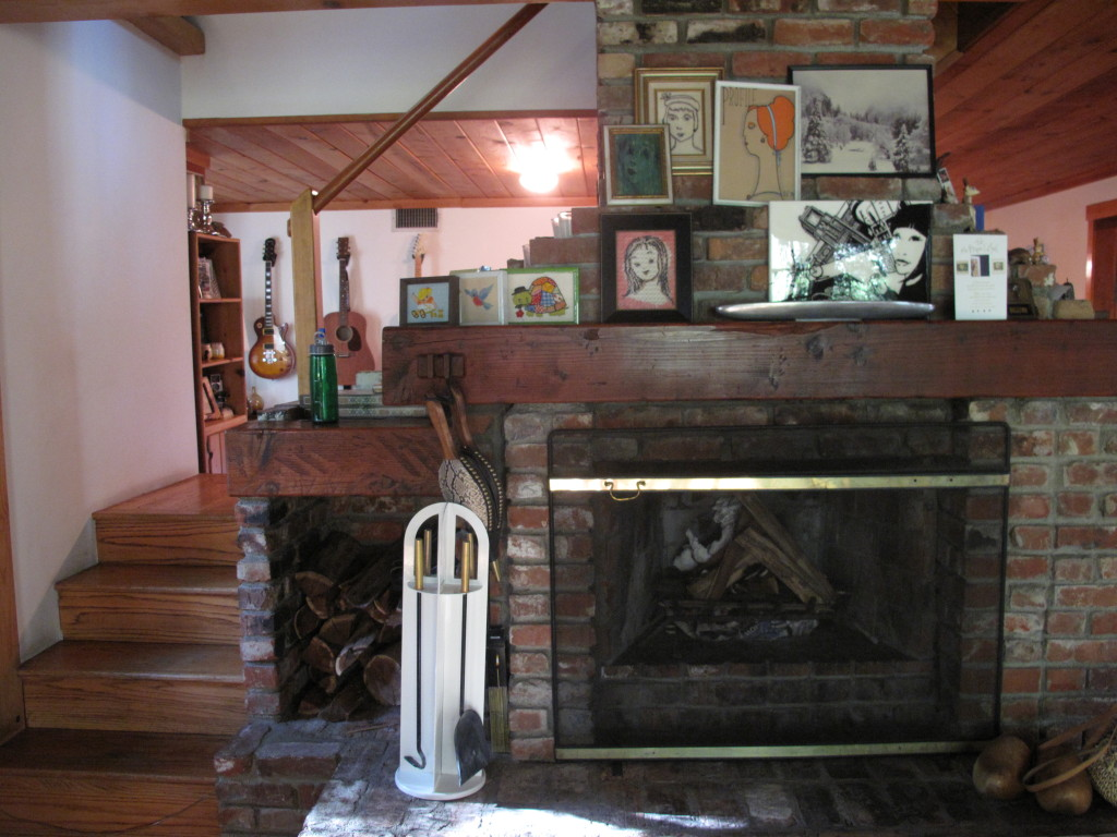 Joni Mitchell house interior