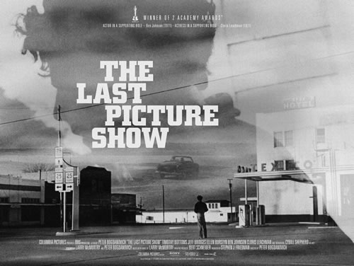 &quot;The Last Picture Show&quot; poster