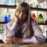 Joni Mitchell's House is a Very, Very, Very, Fine House