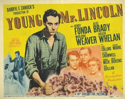 """Young Mr. Lincoln"" poster"