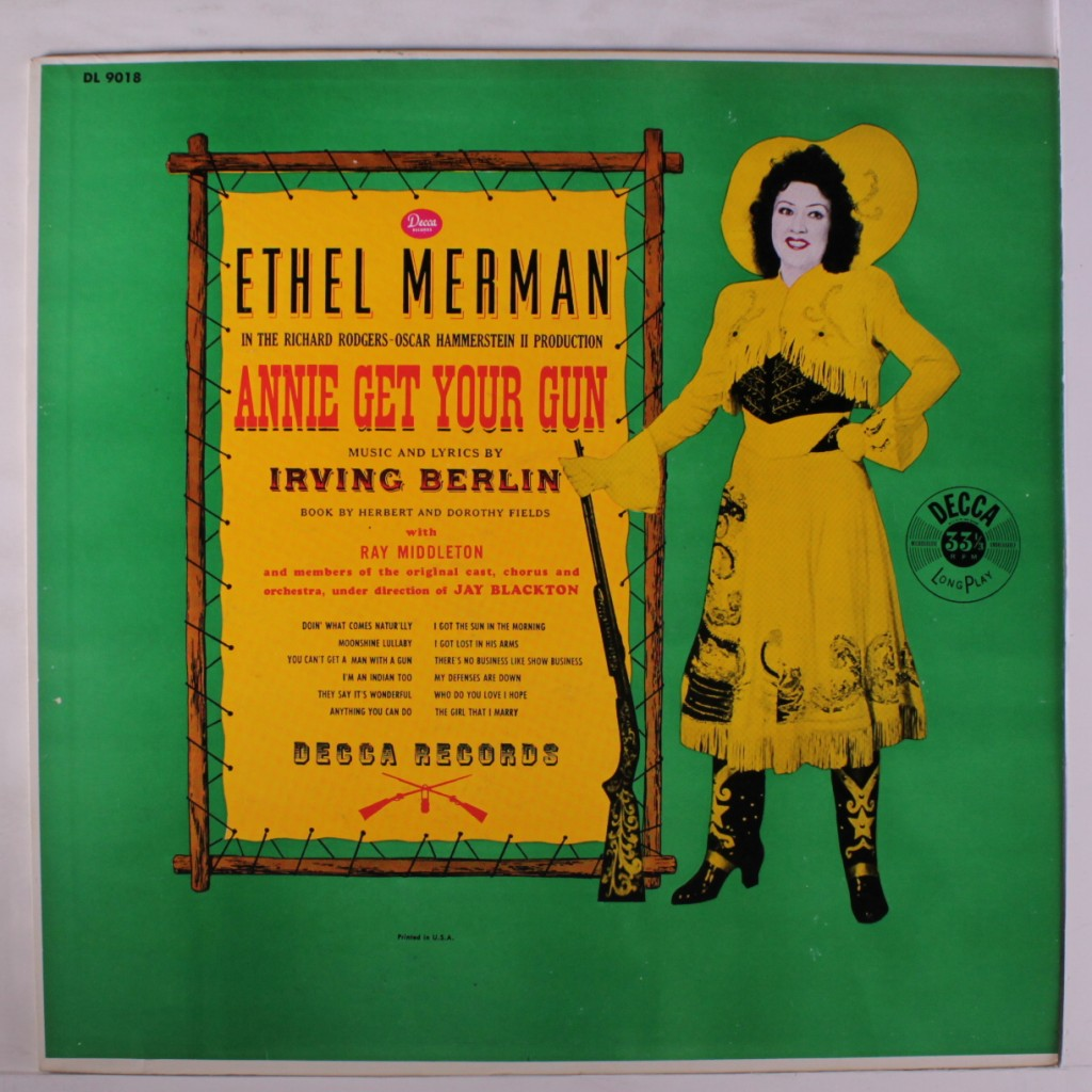 """Annie Get Your Gun"" 78 RPM LP"