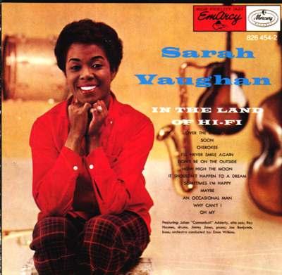 """Sarah Vaughan """"in the land of hi-fi"""""""