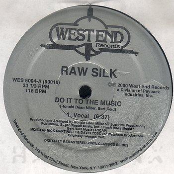 """Raw Silk 12"""""""