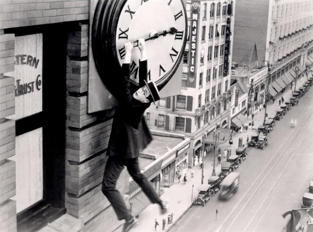Harold Lloyd clock