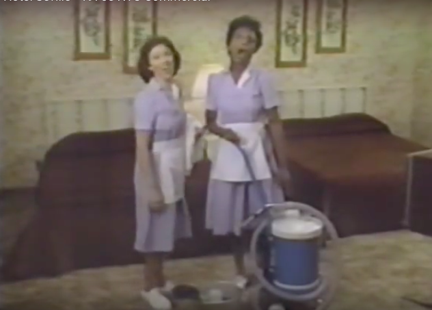 """""""And in The Center of it All!"""" All Singing, All Dancing Commercials for the Milford Plaza and Hotel Seville, circa 1980"""