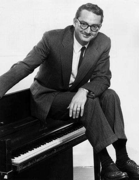Mid-1960s photo of Steve Allen (photo courtesy of Hulton Archive/Getty Images)