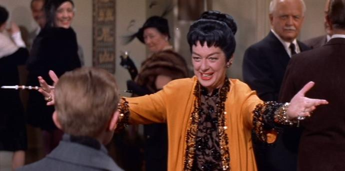 """Auntie Mame"" ""life's a banguet"""