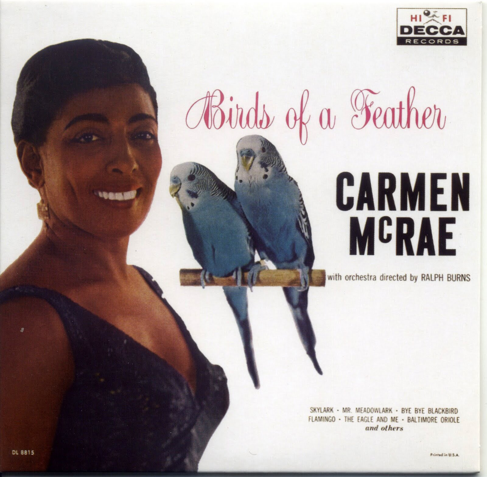 """Carmen McRae, """"Birds of a Feather"""""""