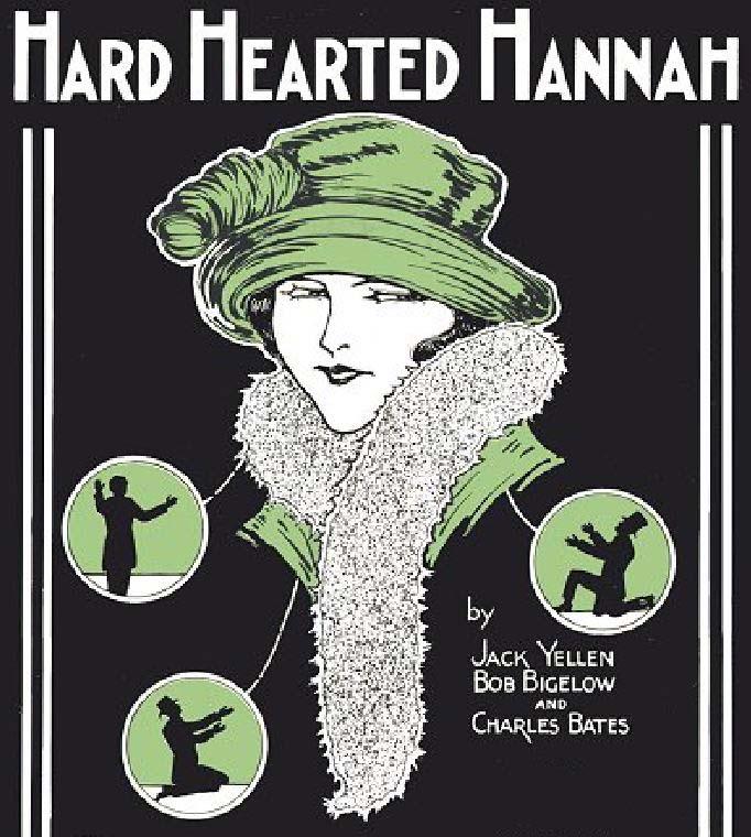 """Hard Hearted Hannah"" sheet music"