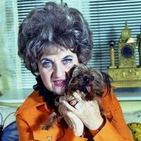 Hermione Gingold dog