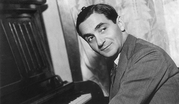 Irving Berlin at the piano