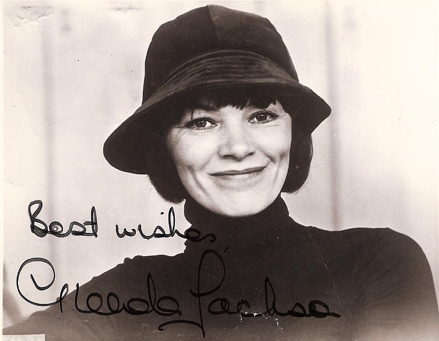 Glenda Jackson signature
