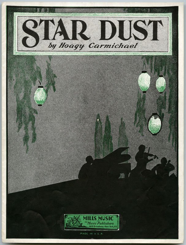 """Stardust"" sheet music"